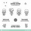 Mama Elephant - Tiny Heroes stamps