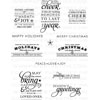 PTI - Stylish Sentiments: Holiday stamps