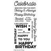 MFT - Big Birthday Wishes stamps