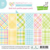 Lawn Fawn - Perfectly Plaid Spring 6x6 pad