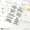 Mama Elephant - Scripty Xmas stamps