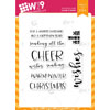 WPlus9 - All the Cheer stamps