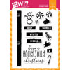 WPlus9 - Holly Jolly Christmas stamps