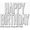 MFT - Big Birthday die