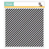 Simon Says Stamp - Diagonal Stripes background stamp