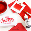 The Stamp Market - Cherry Kisses cardstock
