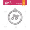 WPlus9 - Scalloped Joy Tag dies