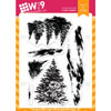 WPlus9 - Snow Scenes stamps