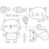 My Cute Stamps - Cat's Meow stamps (r)