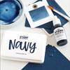 The Stamp Market - Navy ink pad