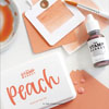 The Stamp Market - Peach ink pad