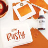 The Stamp Market - Rusty cardstock