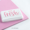 The Stamp Market - Fresh Pink cardstock