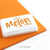 The Stamp Market - Melon Orange ink pad
