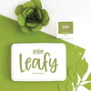 The Stamp Market - Leafy ink pad