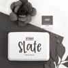 The Stamp Market - Slate ink pad