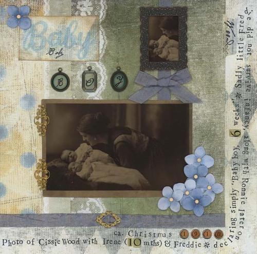 """Baby boy - 6 weeks old"" 1918"