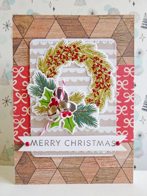 Merry Christmas wreath - 2015-12-04
