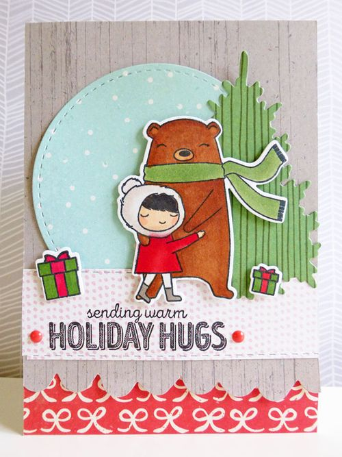 Sending Warm Holiday Hugs - 2015-11-10