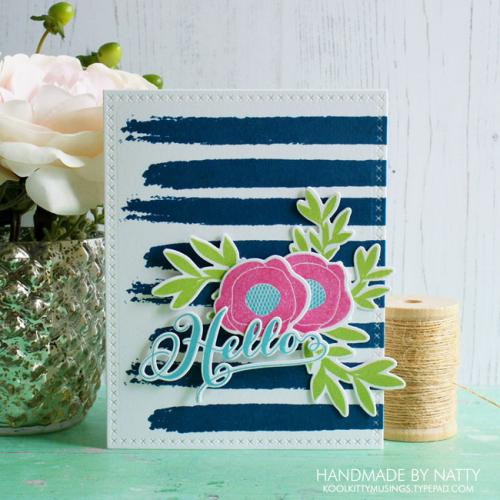 Hello card - 2017-07-27
