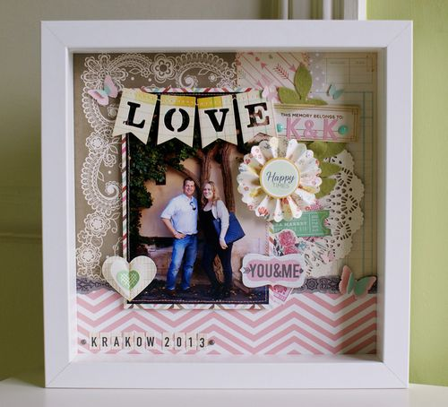 Engagement present - Altered IKEA RIBBA frame